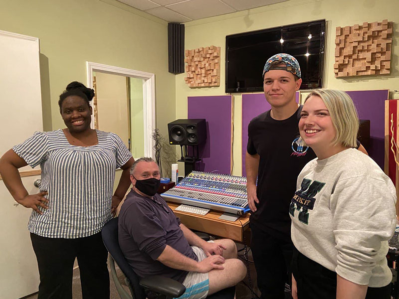 Chapel Worship Band Recorded for Evangelism